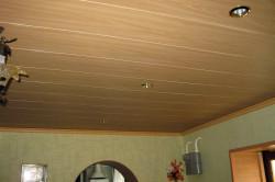 Пример потолка из плит МДФ