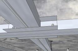 Монтаж панелей МДФ на потолок