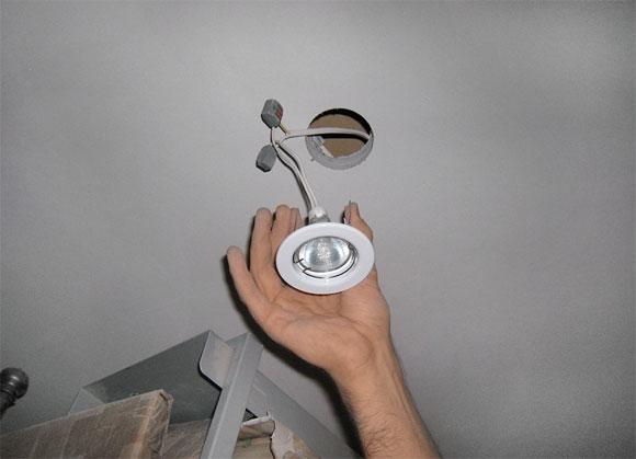 светильник своими руками на потолок