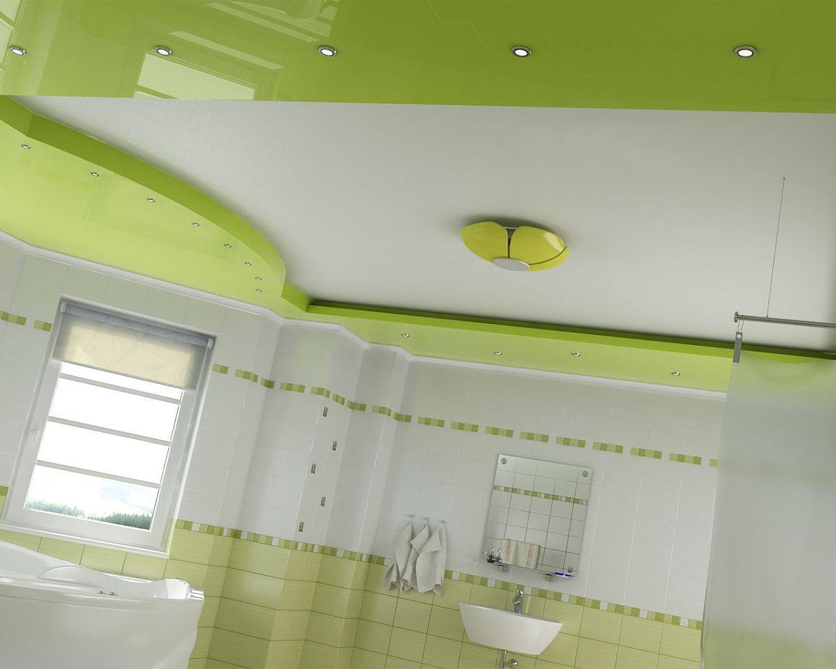 В ванную комнату следует выбирать влагостойкий гипсокартон, который не боится влаги и способен прослужить долгие годы