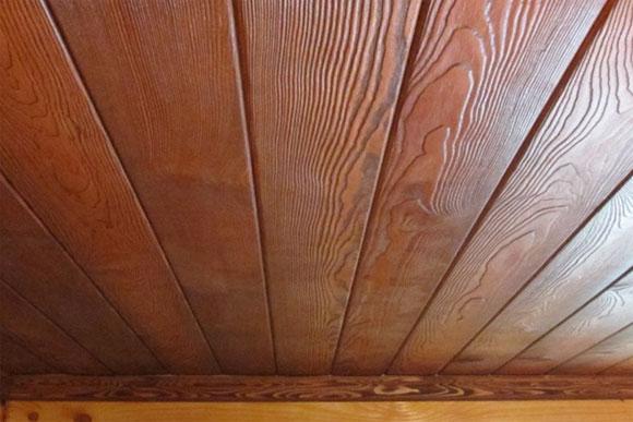 обшивка потолка деревянного дома своими руками