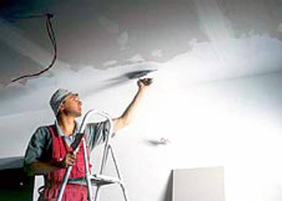 подготовка потолка перед покраской своими руками