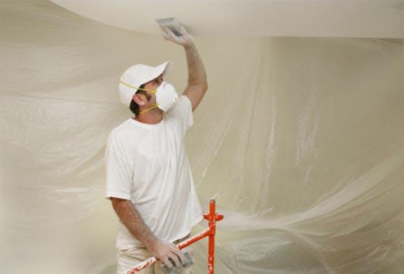 как сделать подготовку потолка под покраску