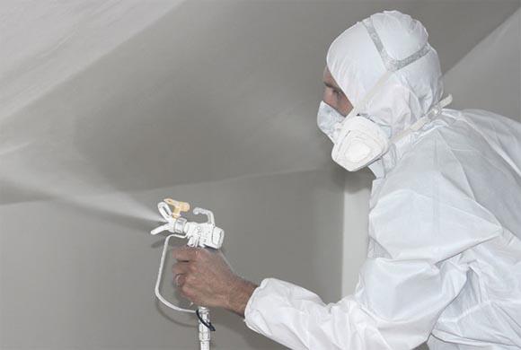 Во избежание попадания распыленной краски в органы дыхания, необходимо использовать респиратор.