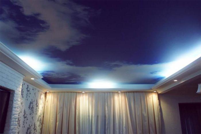 современные потолочные покрытия