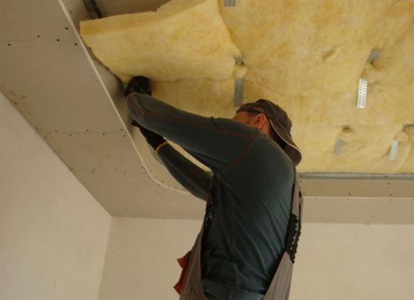 шумоизоляционный материал для потолка