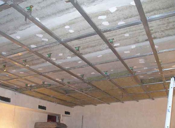 шумоизолирующие материалы для потолка какие лучше