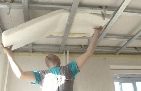 шумоизоляционные материалы для потолка преимущества