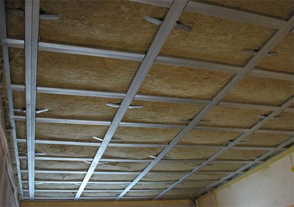 как и чем сделать шумоизоляцию потолка