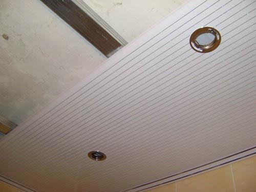 Реечные потолки для кухни - устройство