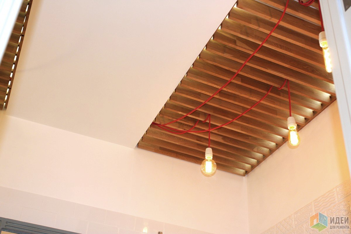 Реечный потолок своими руками