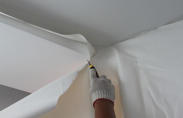 Инструкция по монтажу тканевых потолков