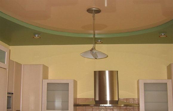 чем отделать потолок в кухне советы
