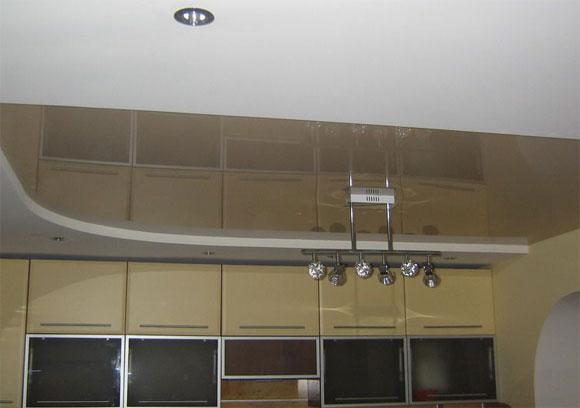 как отделать потолок на кухне инструкция