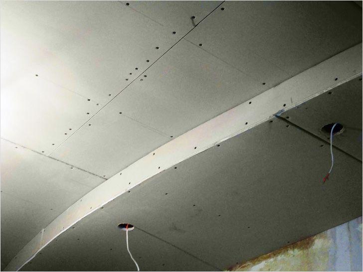 Особые требования к потолку из гипсокартона