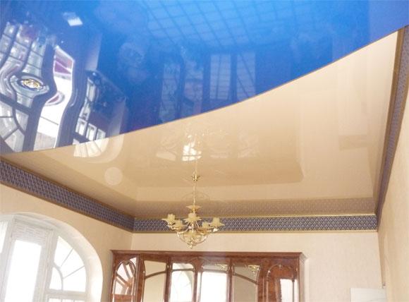 двойной потолок устройство