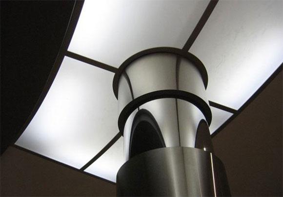 как сделать стеклянный потолок с подсветкой
