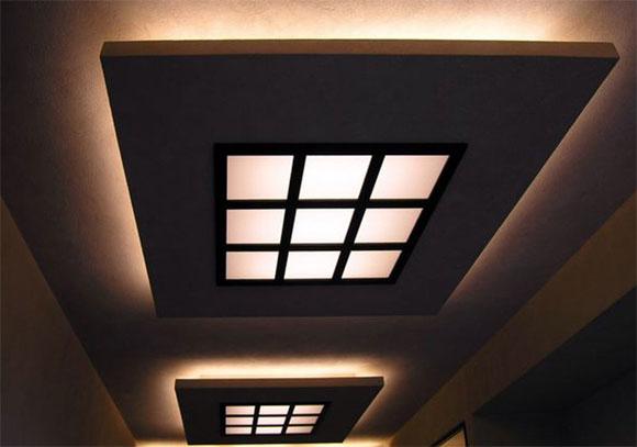 стеклянные потолки с подсветкой своими руками