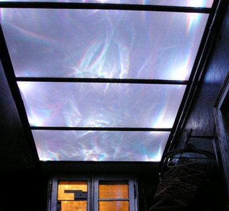 потолок прозрачный с подсветкой своими руками