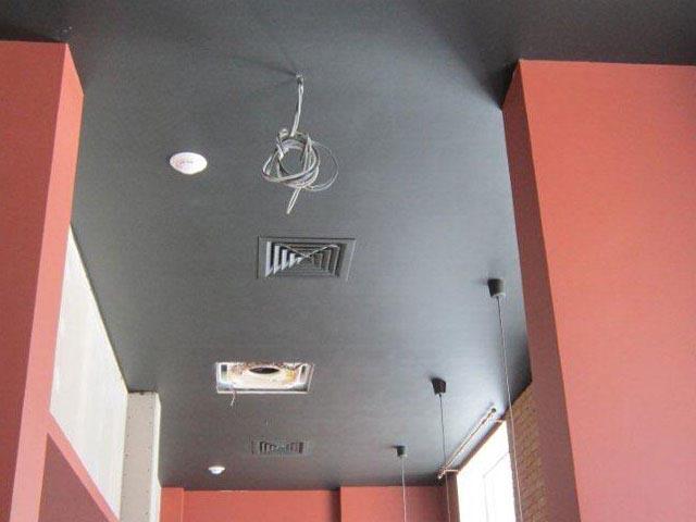 вентиляционная решетка на потолок