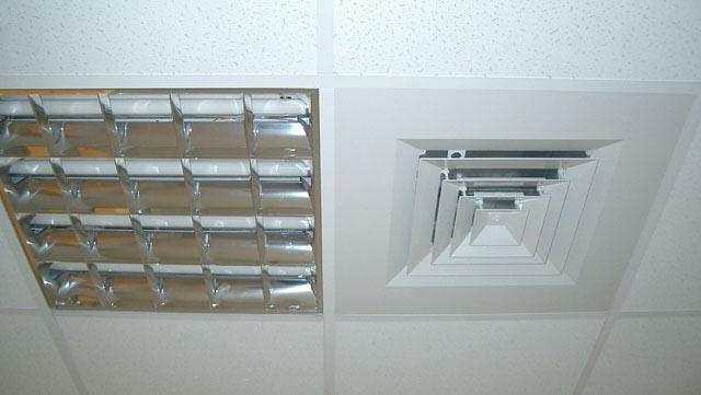 вентиляционные решетки для подвесных потолков