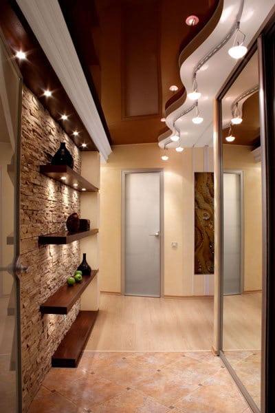 Натяжной потолок и гипсокартон