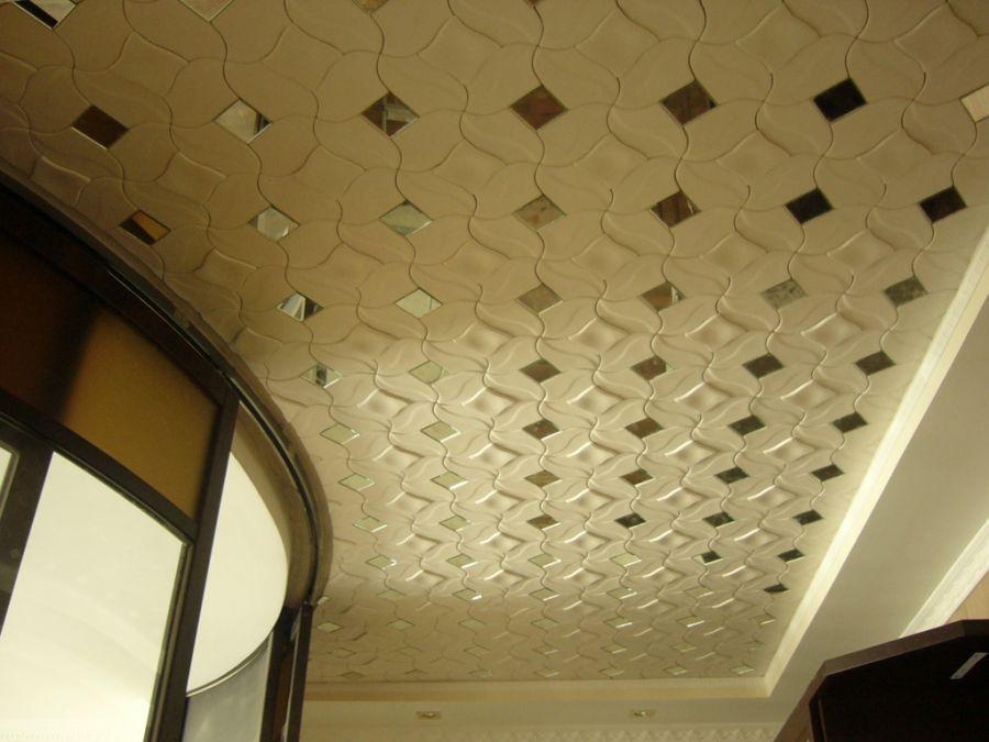 Заделка шов гипсокартона на потолке