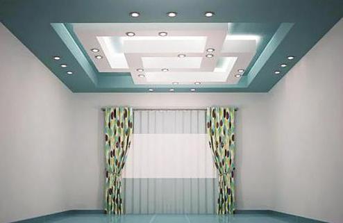 люстра в зал с низким потолком