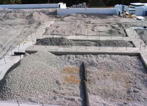 размер фундамента дома из керамзитобетонных блоков