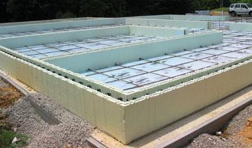 фундамент для двухэтажного дома из керамзитобетонных блоков