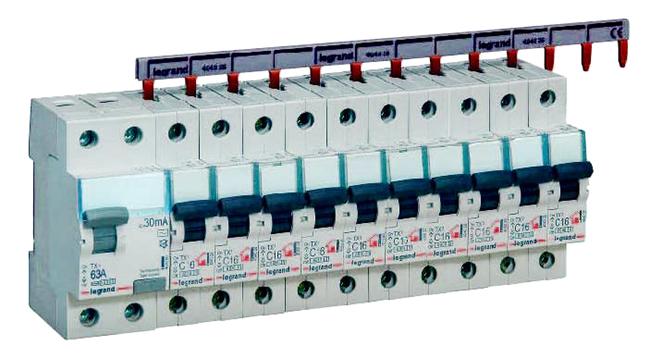 Автоматические выключатели, УЗО, контакторы, рубильники Legrand