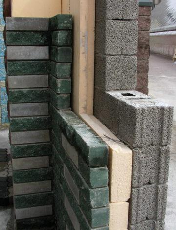 Дом из керамзитобетона и кирпича купить саморезы по бетону без сверления