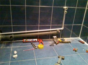 фото монтаж водопровода из полипропилена