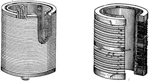Многослойная цилиндрическая обмотка