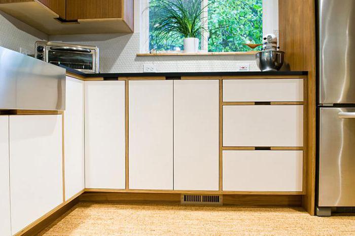 Виды пластика для кухни