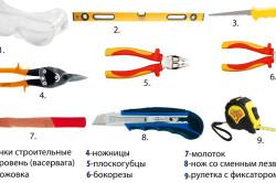 Инструменты для монтажа пароизоляции потолка
