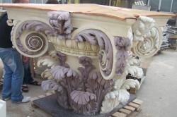 Скульптура из архитектурного бетона с добавлением пегментов