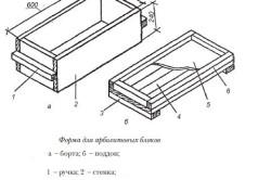 Форма для арболитовых блоков
