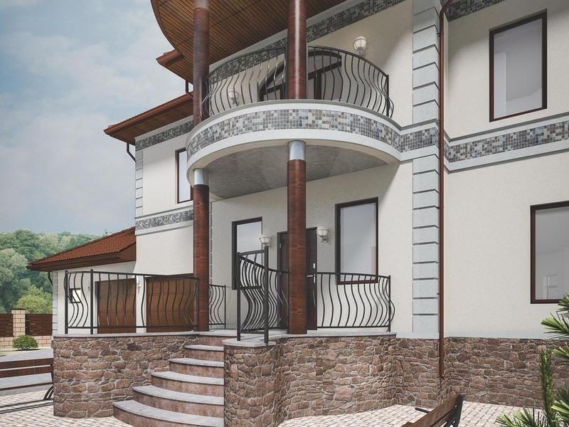 В частных домах используют бетонные, металлические, деревянные лестницы.