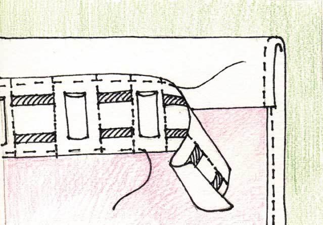 Как правильно пришить широкую шторную ленту к тюлю, органзе, шторам, портьере: пошаговая инструкция