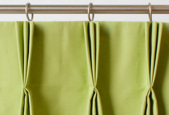 Как пришить ленту на шторы