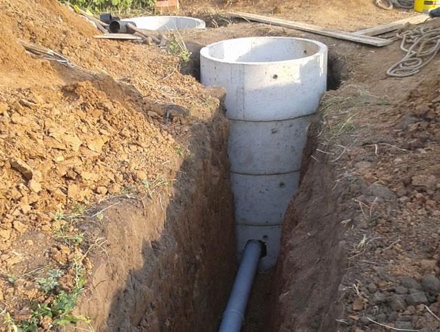 технология прокладки канализационных труб в траншею