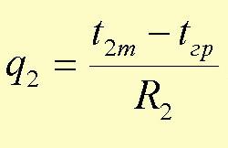 Формула тепловой изоляции труб тепловых сетей двухтрубной подземной канальной прокладки