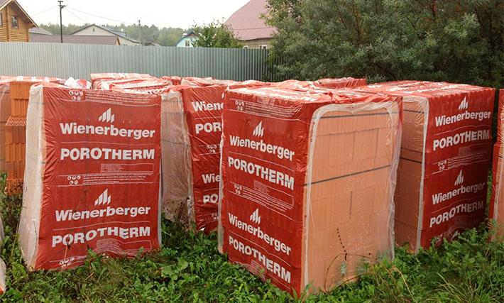 Правильное хранение керамических блоков