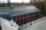 монтаж мансардной крыши