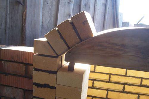 Кладка арки из кирпича: советы самостоятельным строительным