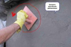 Схема затирки штукатурки для выравнивания кирпичной стены