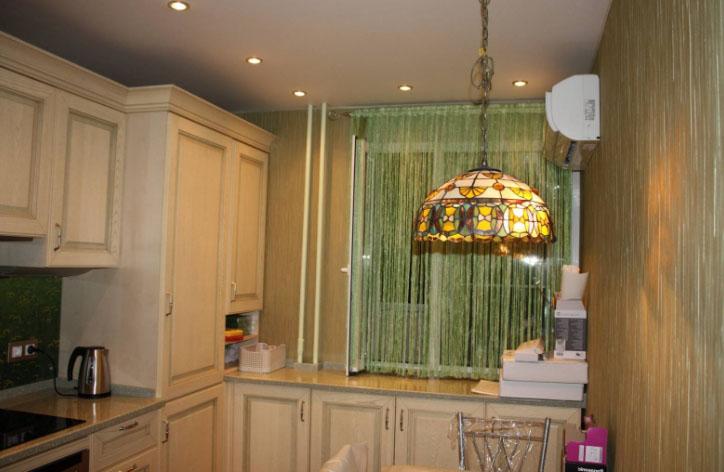 Шторы из сетки на кухню— новинки в оформлении интерьера