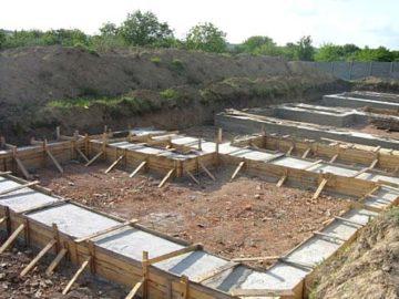 Строительство монолитного фундамента в Красногорске
