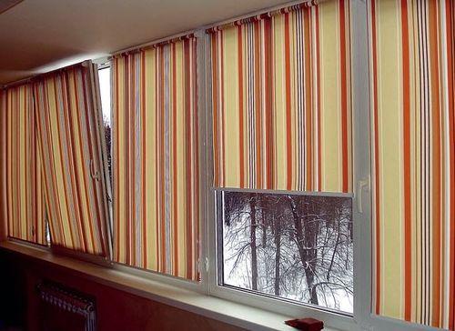 Как сделать занавески на балкон своими руками